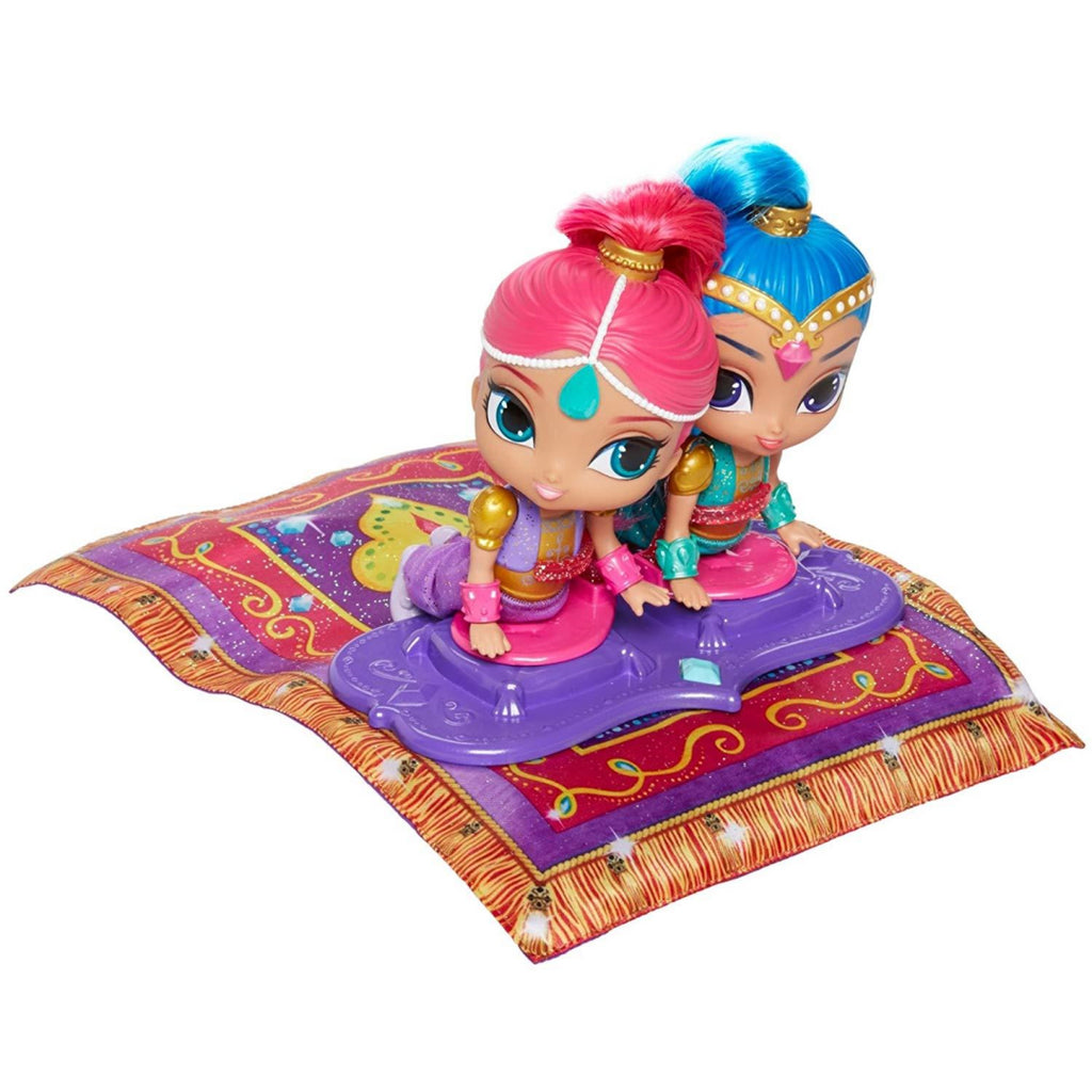 Shimmer and Shine - DGL84 - Magic Flying Carpet Electronic Doll Playset - Fisher - Maqio