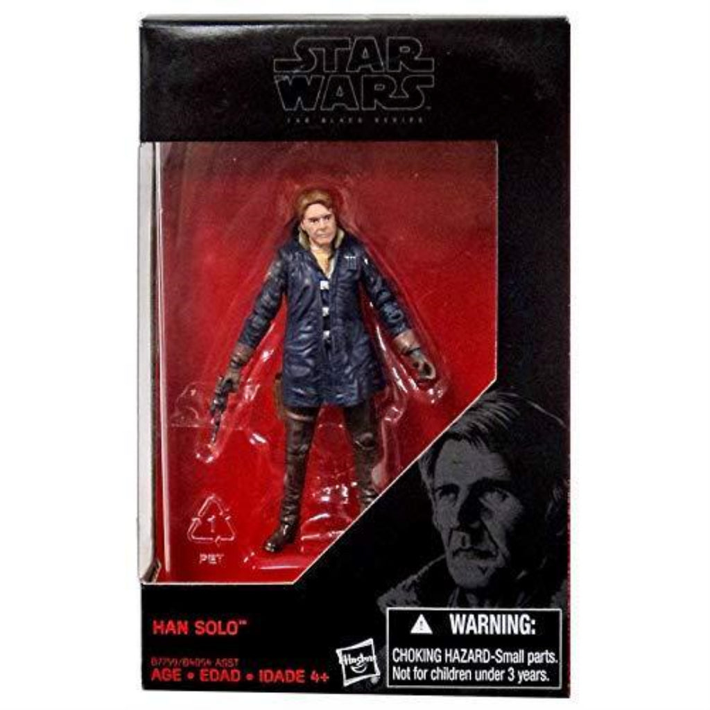 Disney Star Wars The Black Series Han Solo 3.75-Inch Boxed Figure - Maqio
