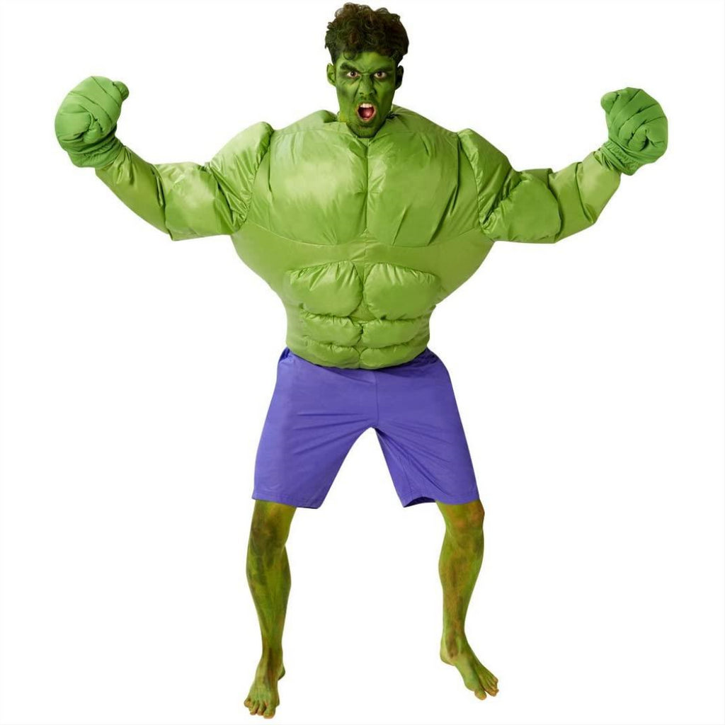 Rubie's Official Marvel Inflatable Hulk Adult Costume - One Size 810938 - Maqio