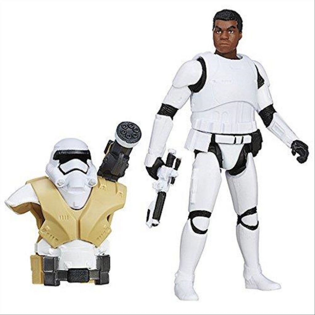 Star Wars The Force Awakens Armour Up 9cm Finn (FN-2187) Figure - Maqio