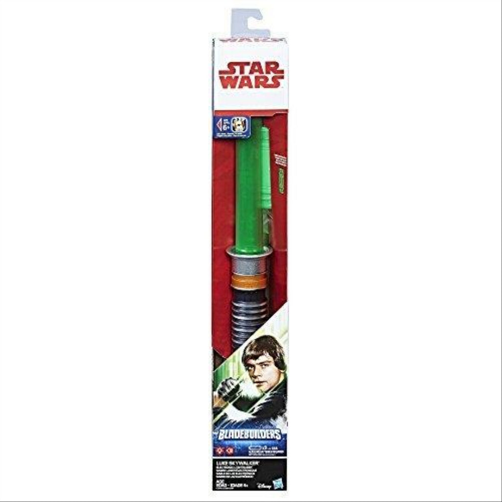 Star Wars C1572 Luke Skywalker Electronic Green Lightsaber - Maqio