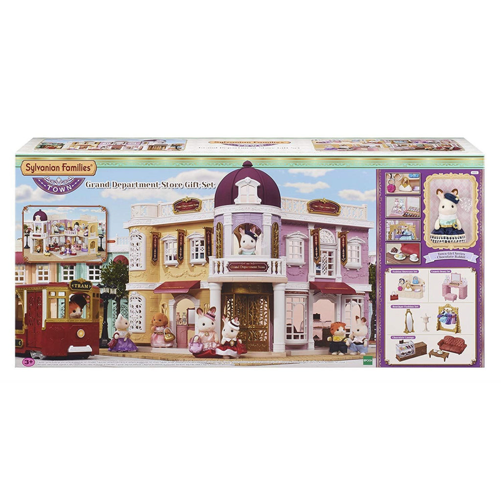 Sylvanian Families 6022 Grand Department Store Gift Playset, New Town Series - Maqio
