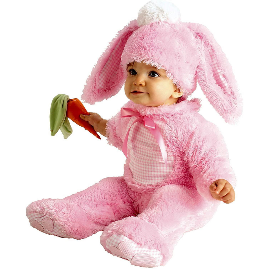Rubie's Precious Little Wabbit Baby Pink Rabbit Bunny Costume Age 6-12 Months - Maqio