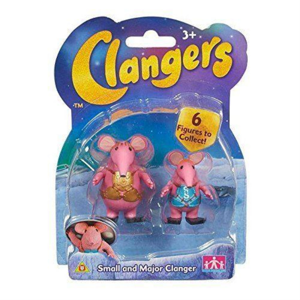 Clangers Collectable Figure Pack - Major Clanger and Small by Clangers - Maqio