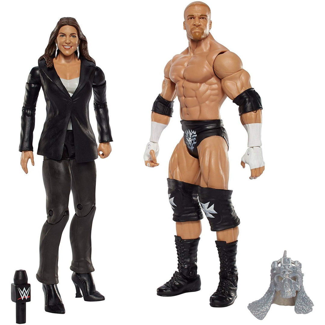 WWE Battle Pack Action Figures - Triple H and Stephanie