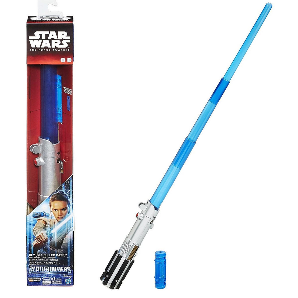 Star Wars The Force Awakens B2919 Rey Electronic Lightsaber - Maqio