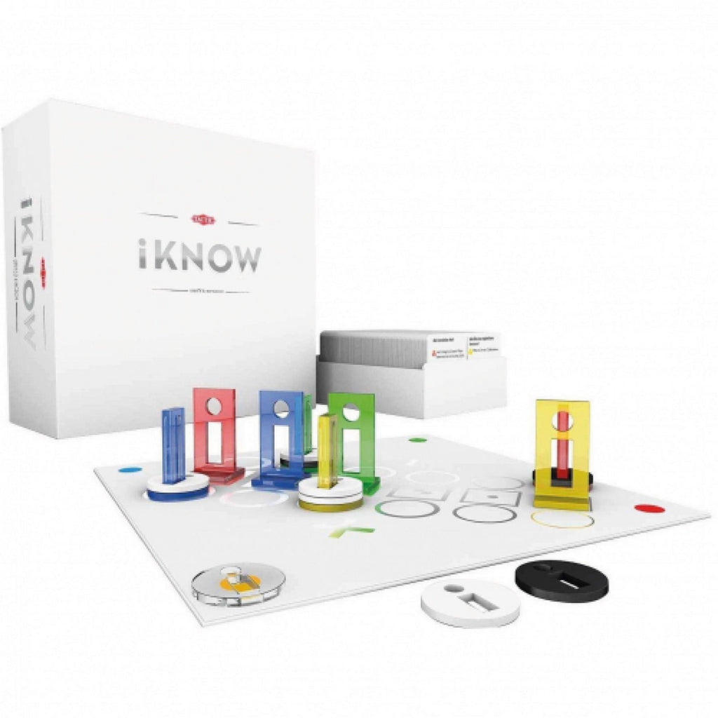 Tactic iKnow Trivia Family Strategy Board Game - Maqio