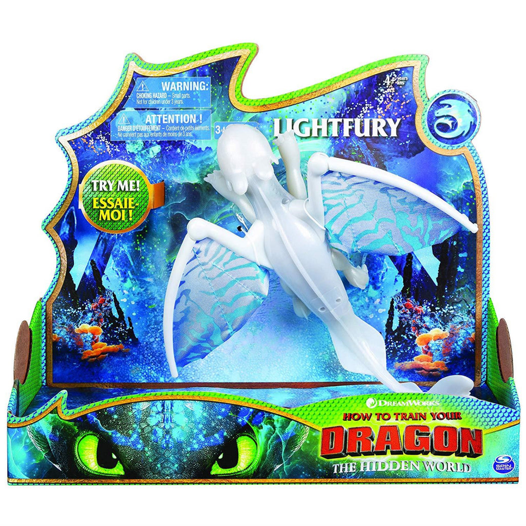 DreamWorks Dragons Lightfury Deluxe Lights and Sounds - Maqio