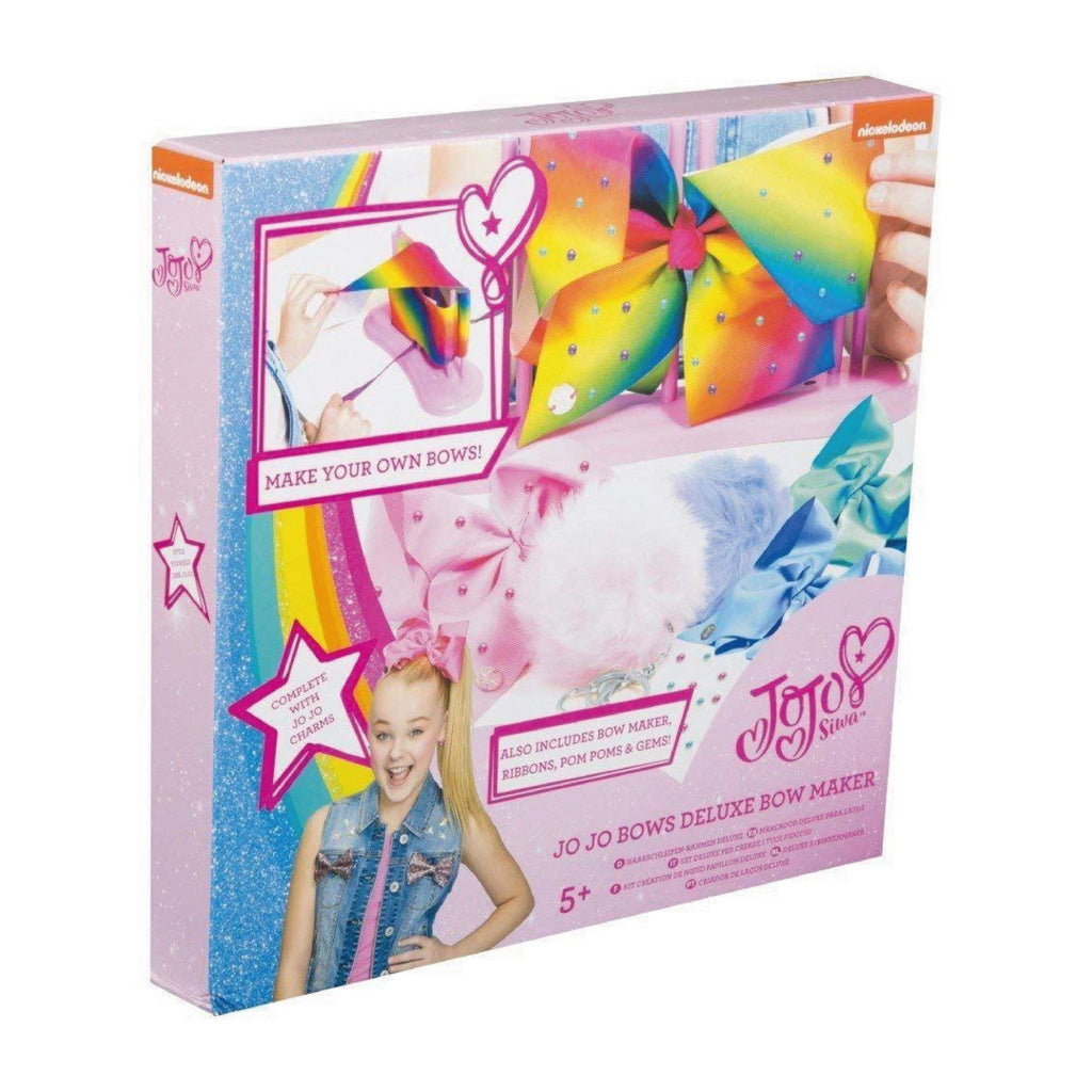 Official Jojo Siwa Deluxe Bows and Pom Pom Keyring Maker - Brand New - Maqio