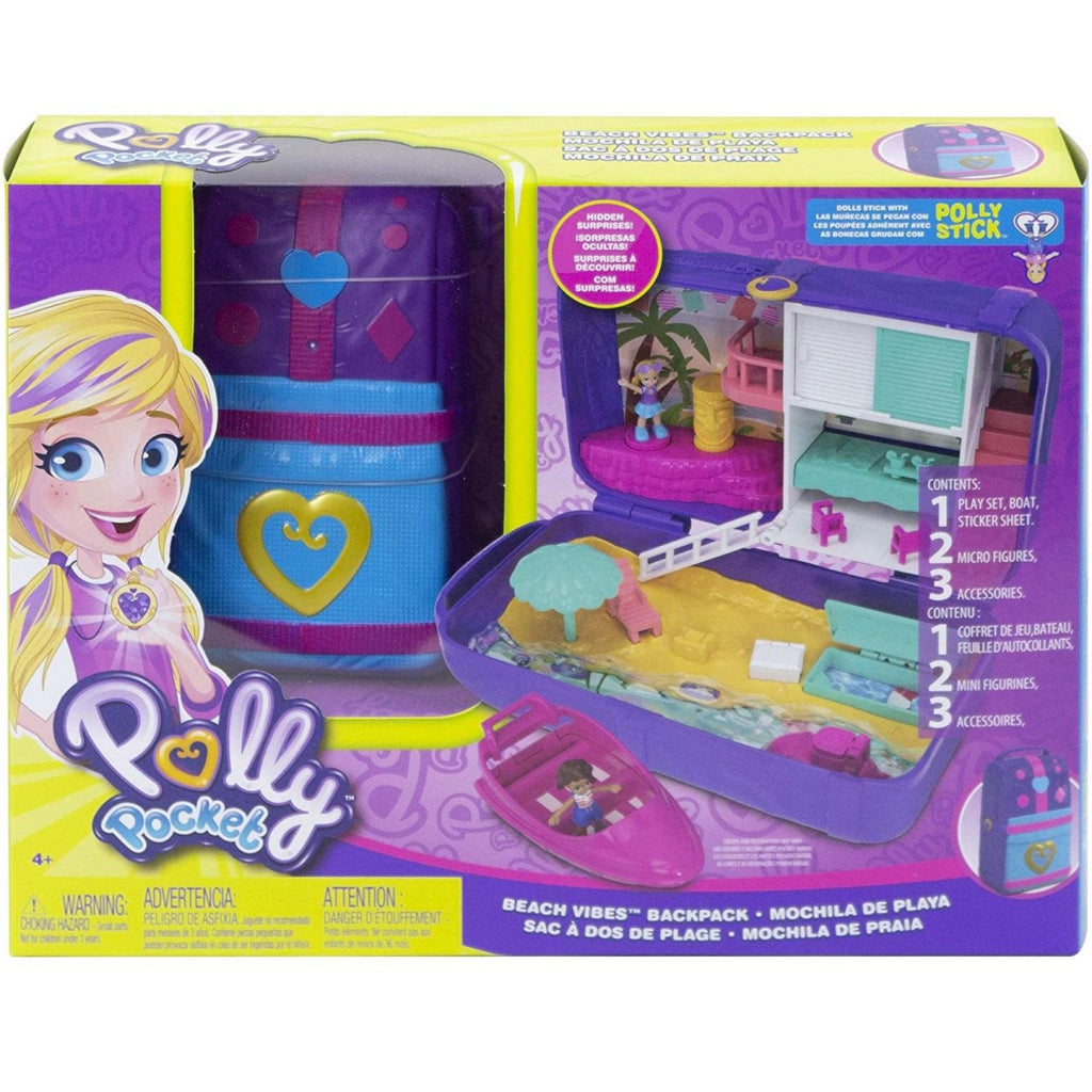 Polly Pocket Hidden Places Beach Vibes Backpack FRY40 - Maqio