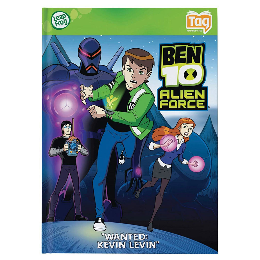 LeapFrog Tag Book Ben 10 Alien Force Wanted: Kevin Levin - Maqio