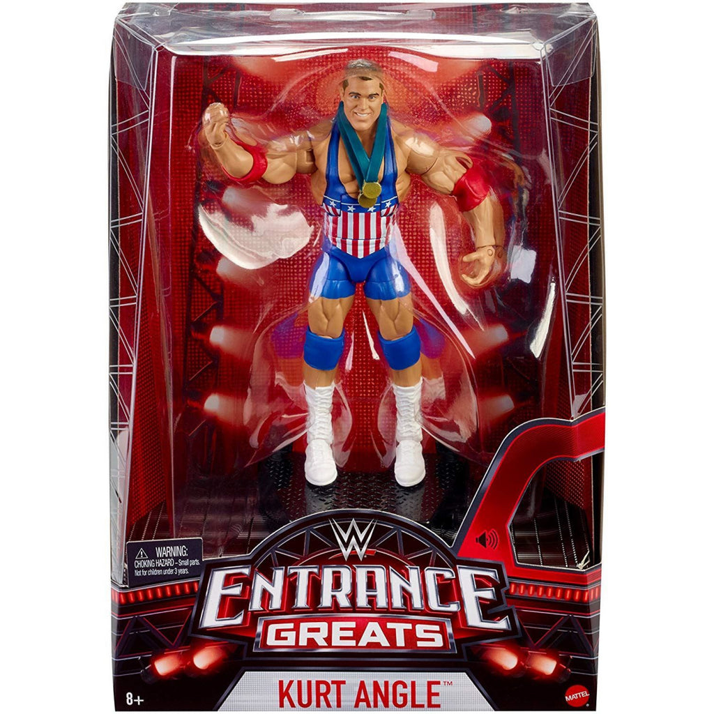 WWE FML09 Entrance Greats Kurt Angle Action Figure - Maqio