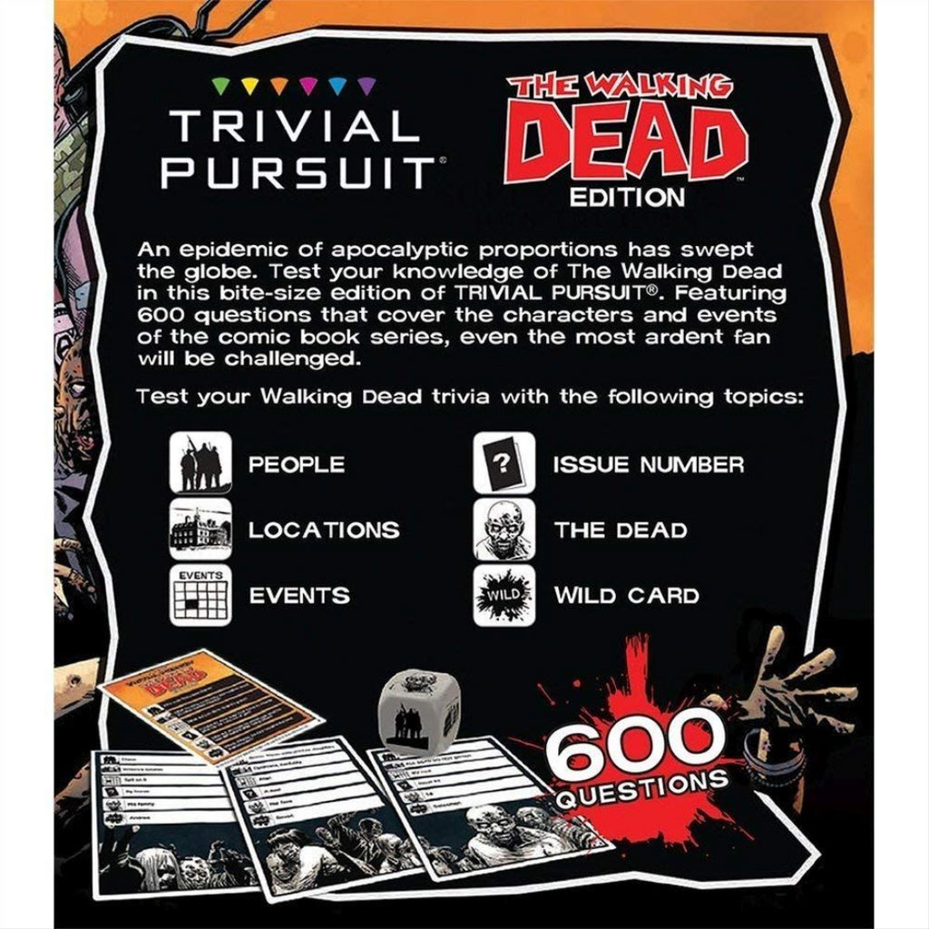 The Walking Dead Trivial Pursuit Board Game - Maqio