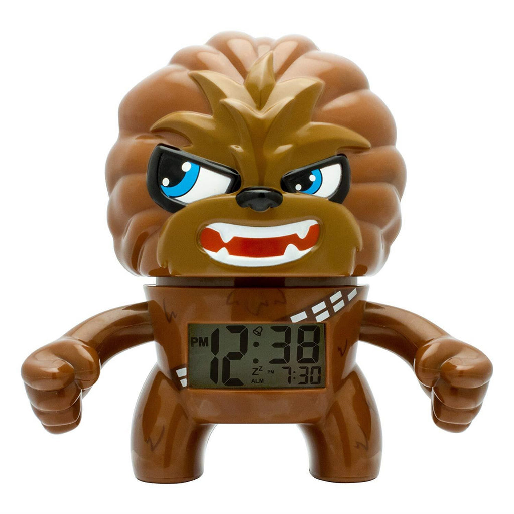 BulbBotz Star Wars Chewbacca Alarm Clock - Maqio