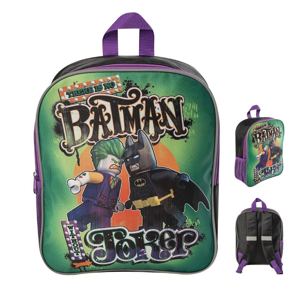 LEGO Batman Movie Batman vs Joker Backpack - Maqio