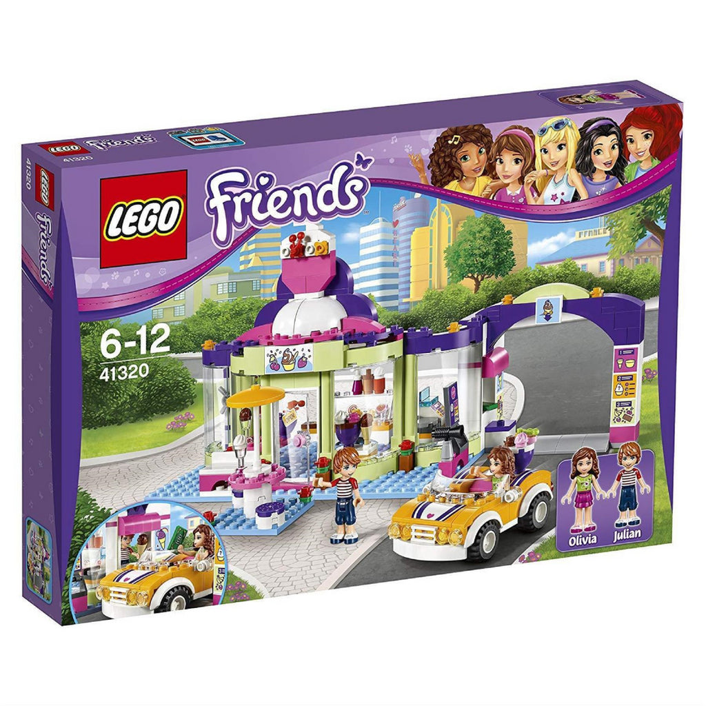 LEGO Friends 41320 Heartlake Yogurt Ice Cream Parlour - Maqio