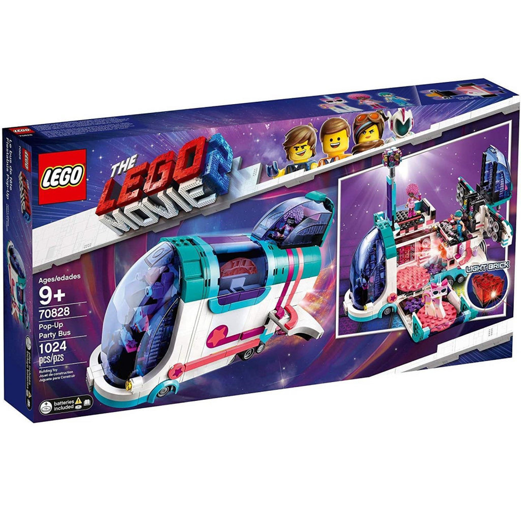 LEGO Movie 2 - 70828 Pop-Up Party Bus - Maqio