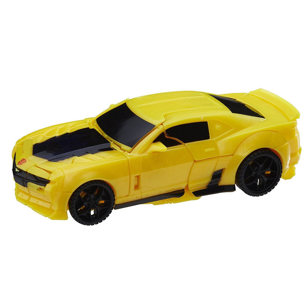 Transformers The Last Knight 1-Step Turbo Changer Bumblebee Figure - Maqio