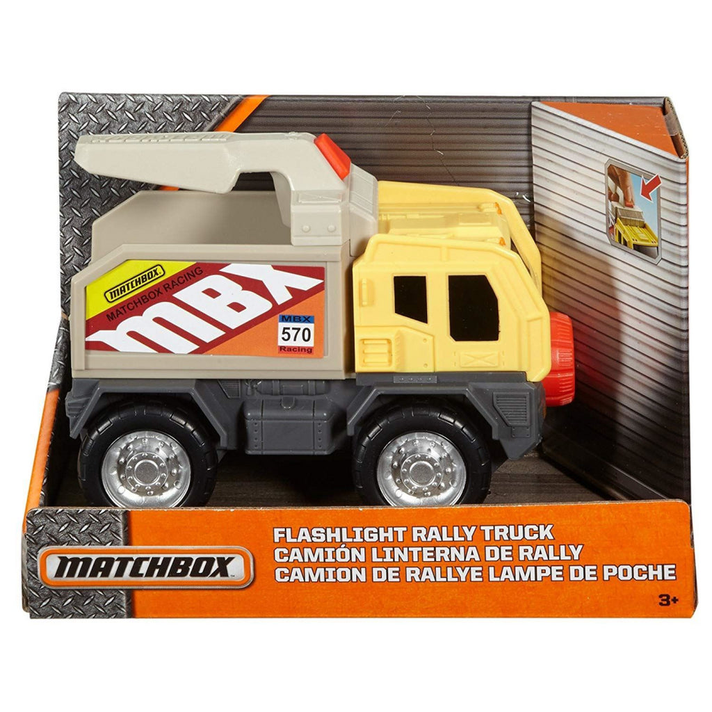 Matchbox Rally Truck Vehicle with Torch Light - Maqio