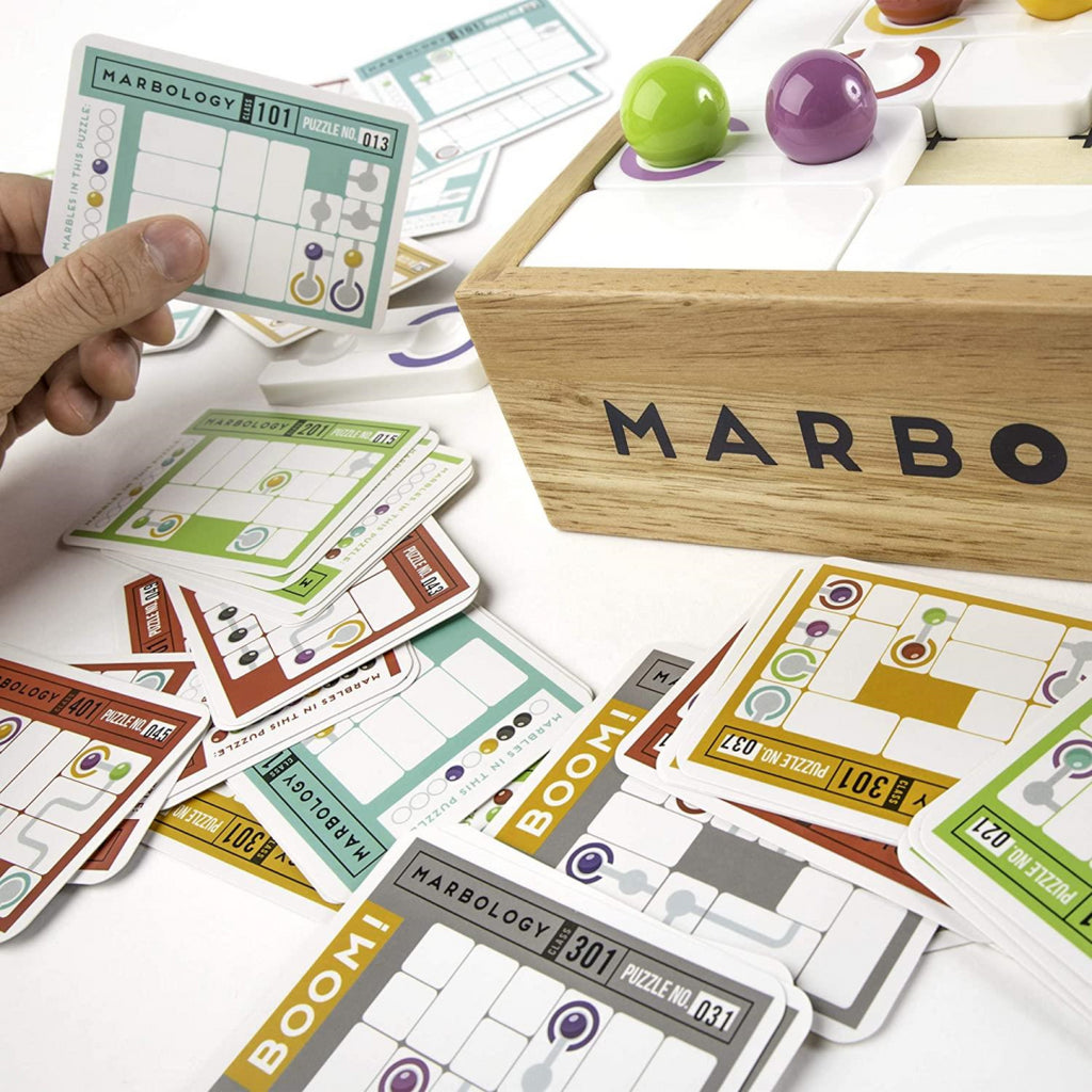 Marbology Marble Puzzle Board Game 6044856 - Maqio