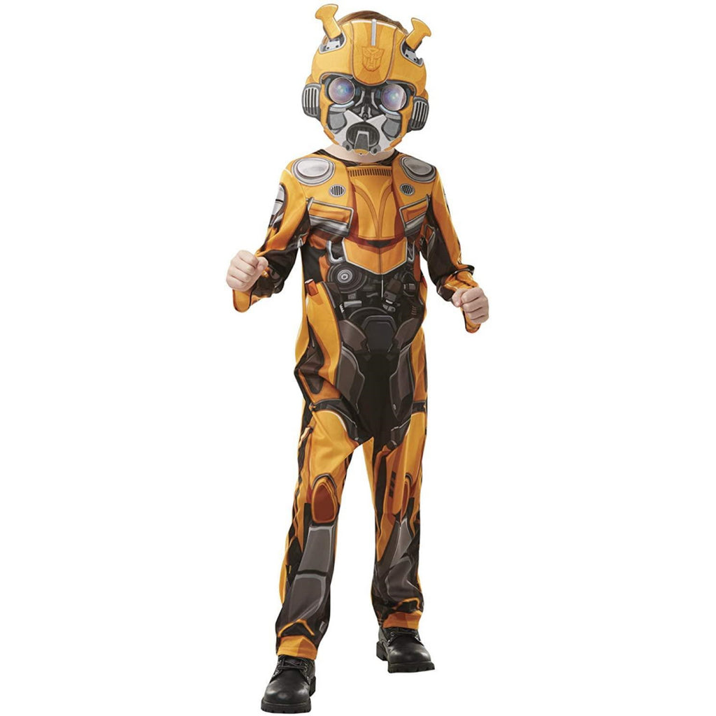 Rubie's 640977 Transformers Bumblebee The Movie CLASSIC Costume Bumblebee (Age 5 - Maqio