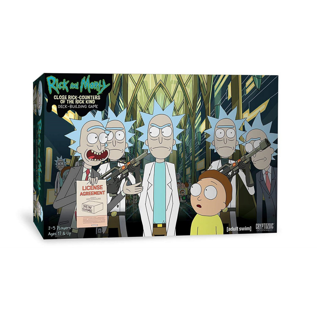 Rick & Morty: Close Rick-Counters of The Rick Kind Deck Building Game (CZE25745) - Maqio