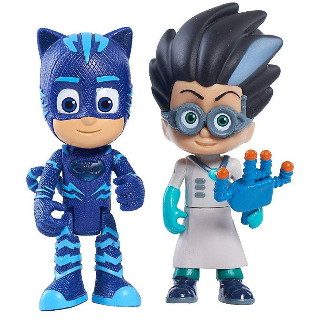 PJ Masks Light-Up Figures - Cat Boy & Romeo (24810) - Maqio