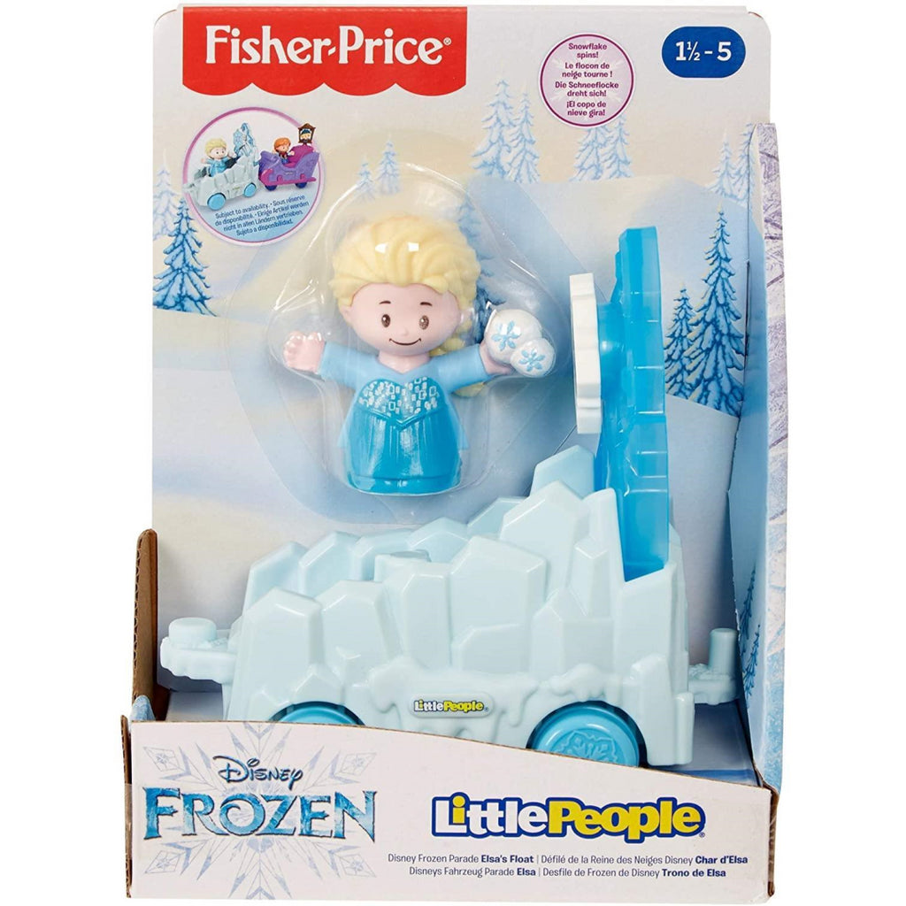 Fisher-Price GNR07 Little People Disney Frozen Parade Elsa's Float - Maqio