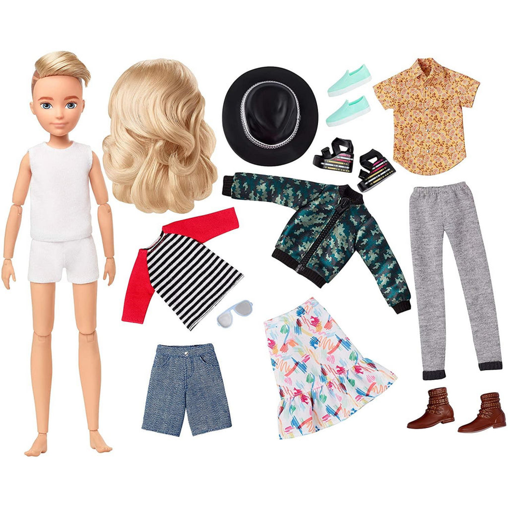 CREATABLE WORLD GGT67 Deluxe Character Kit Customisable Doll - Maqio