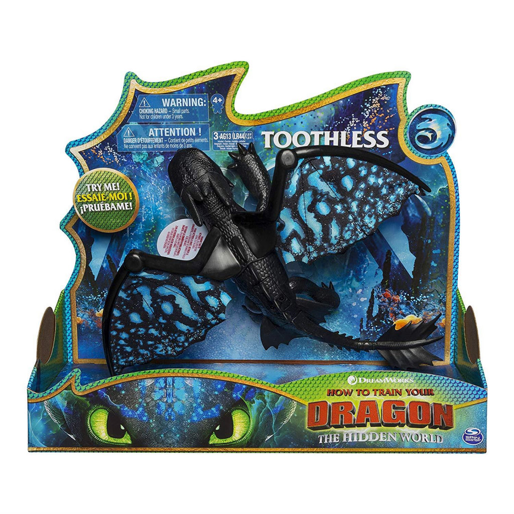 DreamWorks Dragons Toothless Deluxe Lights and Sounds - Maqio