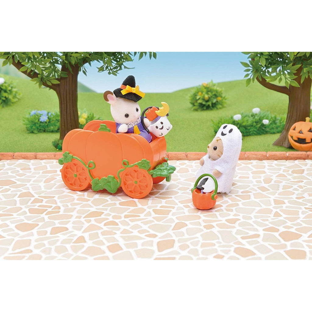 Sylvanian Families Halloween 5268 Baby Trick or Treat Set Toy - Maqio