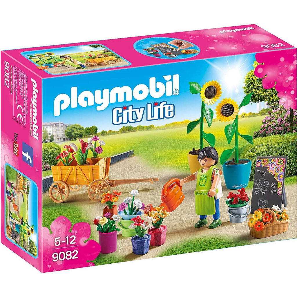 Playmobil 9082 City Life Florist Playset Toy - Maqio
