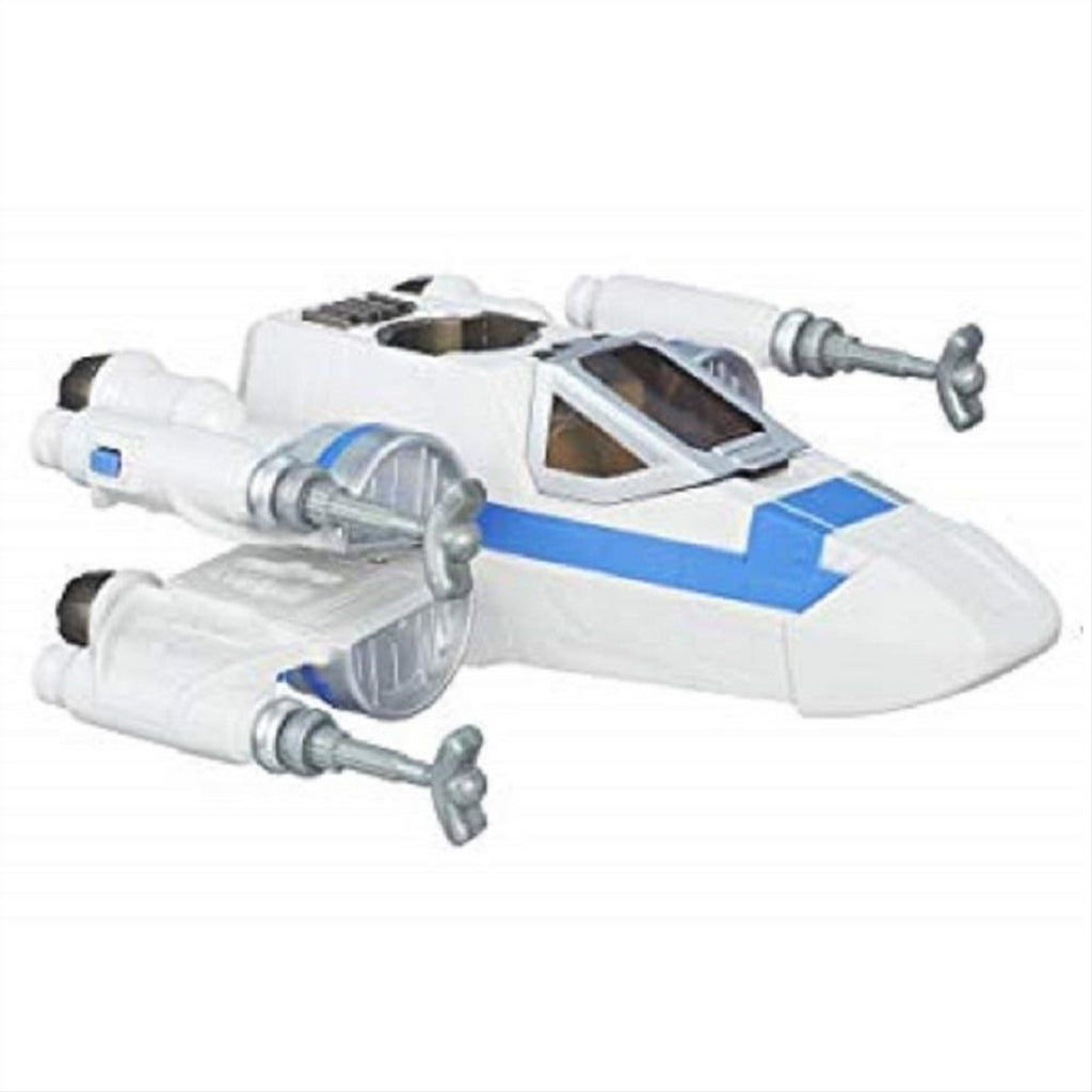 Disney Playskool Heroes Toy - Star Wars Galactic Heroes - Poe's X-Wing Fighter w - Maqio