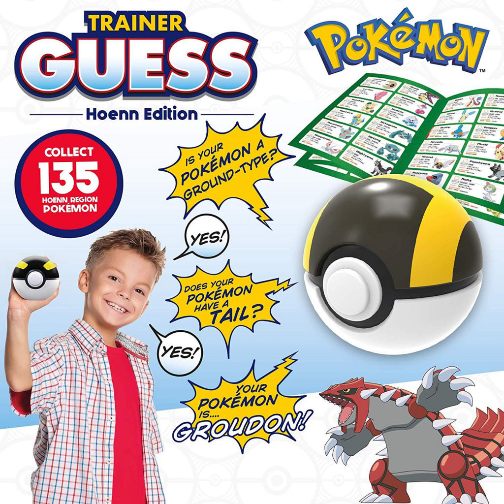 Pokemon Trainer Guess Hoenn Edition Ultra Ball Toy - Maqio