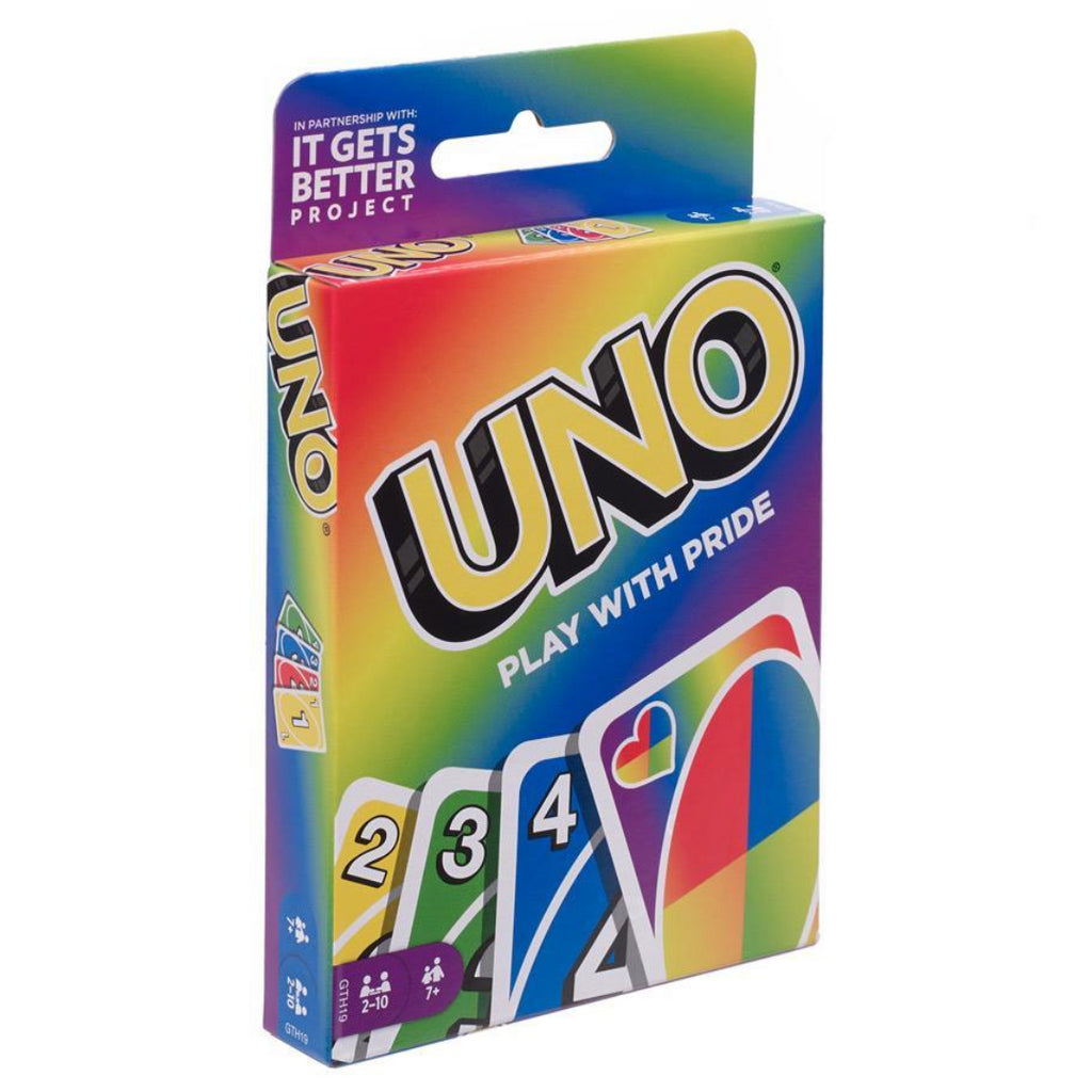 UNO GTH19 Play with Pride Card Game - Maqio