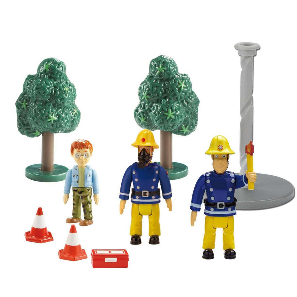 Fireman Sam Figure and Accessory Pack - Maqio