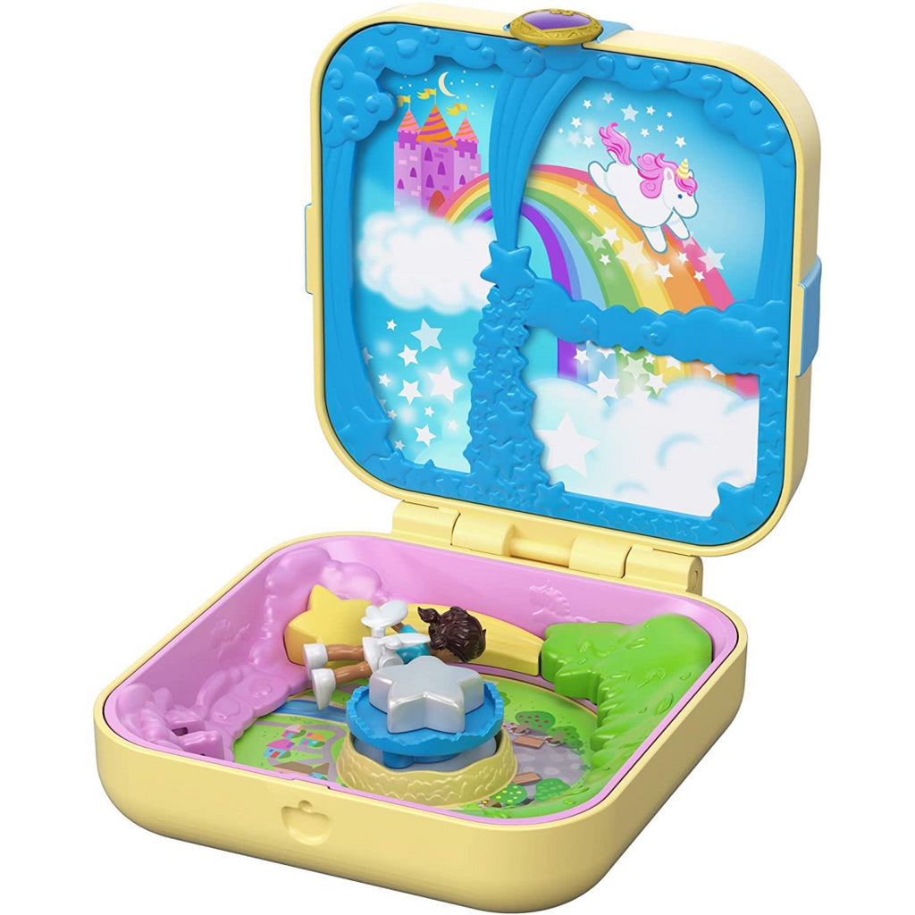 Polly Pocket GDK78 Hidden Hideouts Unicorn Utopia - Maqio