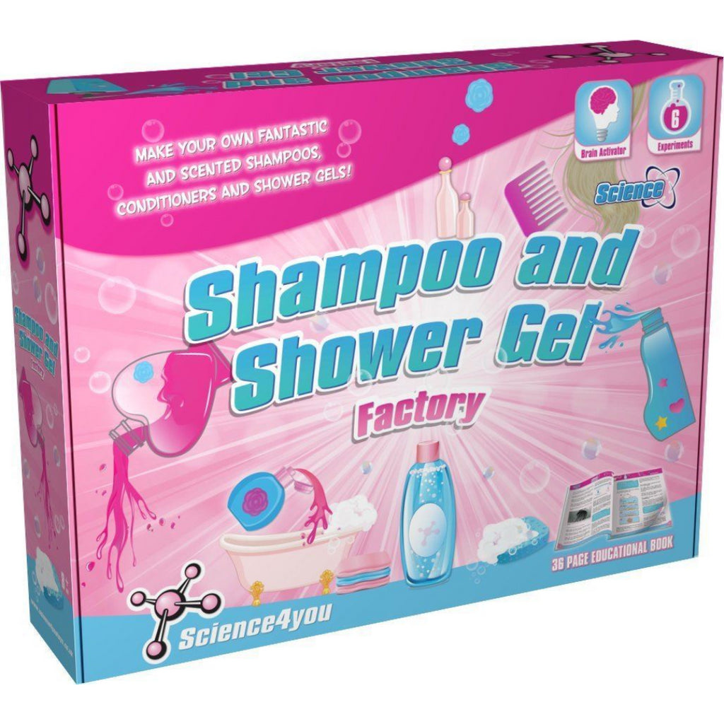 Science4you  Shampoo and Shower Gel Factory Educational STEM Kit Toy - Maqio