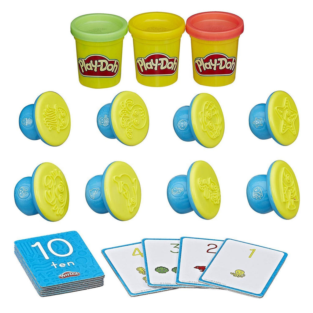 Play-Doh B34061020 Shape and Learn Numbers and Counting - Maqio