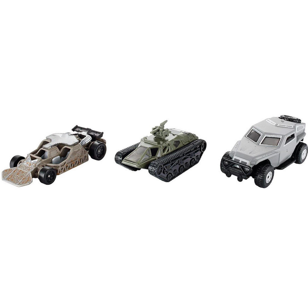 Fast and Furious FCG06 3 Pack of Cars Custom Mission - Maqio