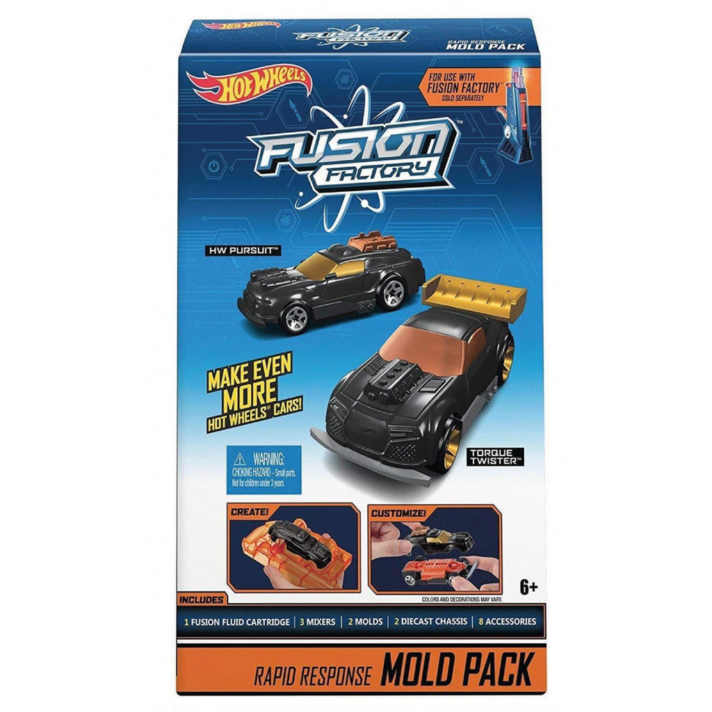 Hot Wheels Fusion Factory 2.0 Vehicle - Mold Pack 1 (DND15) - Maqio