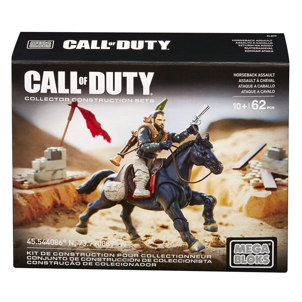 Mega Bloks Call of Duty DLB99 - Horseback Assault Collector Contruction Toy - Maqio