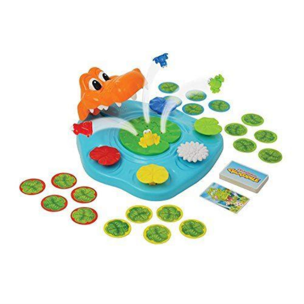 TOMY Crunching Croc Children's Preschool Action & Reflex Game - Maqio