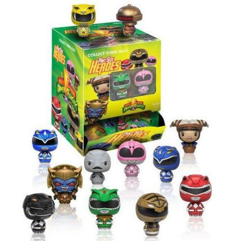 Funko Pint Sized Power Rangers Hero Figures - Random Figure x 1 - Maqio