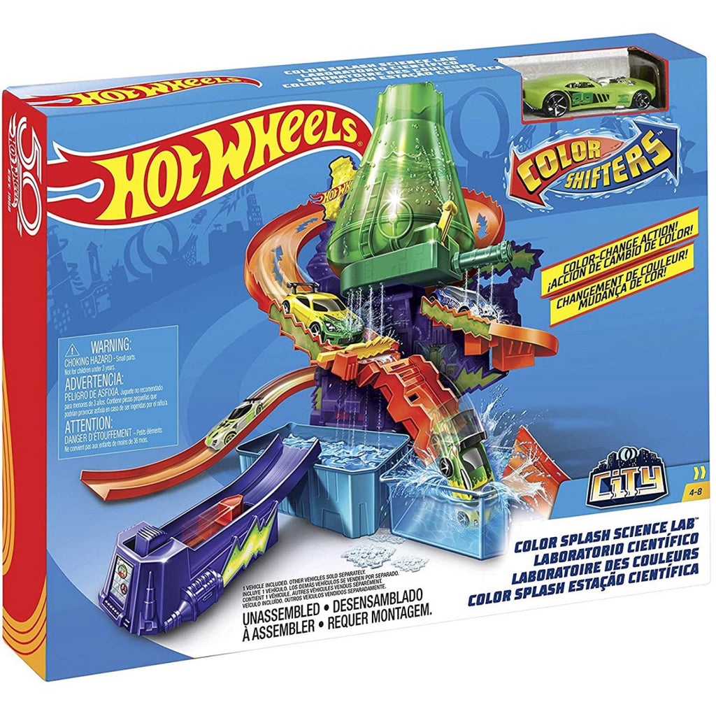 Hot Wheels Colour Shifters Laboratory Playset CCP76 - Maqio