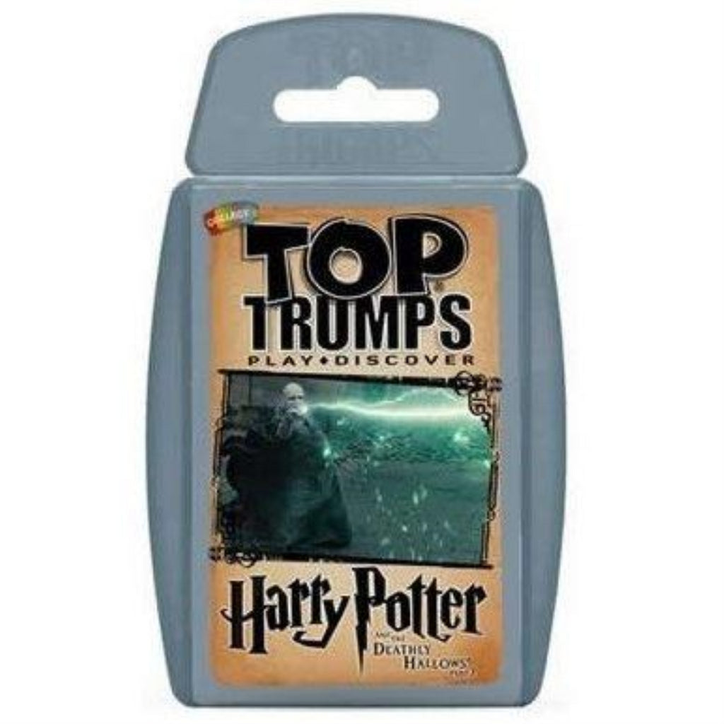 Harry Potter and the Deathly Hallows Part 2 Top Trumps Card Game - Maqio