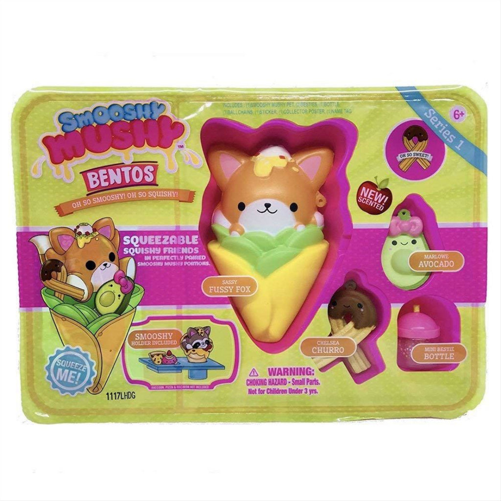 Smooshy Mushy Bento Box Series 1 - Sassy Fussy Fox Squishy Toy - Maqio