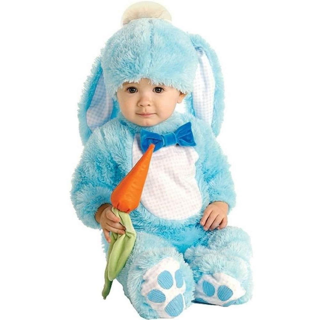 Rubie's Handsome Little Wabbit Baby Blue Rabbit Bunny Costume Age 6-12 Months - Maqio