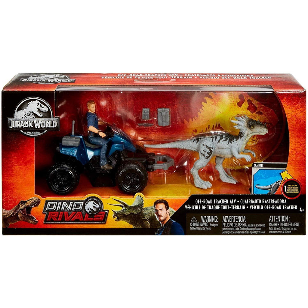 Jurassic World Deluxe Story Pack Off-Road Tracker ATV GCV78 - Maqio