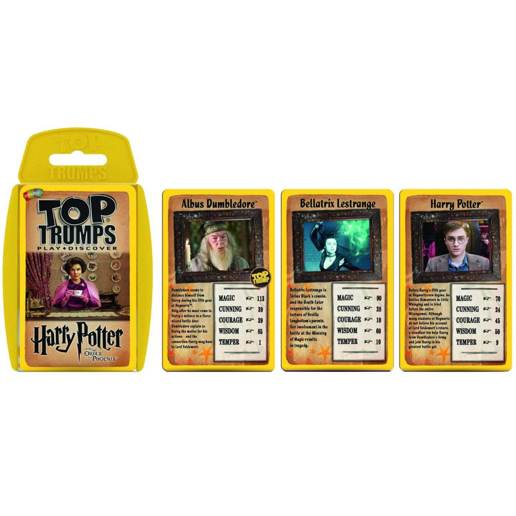Top Trumps Harry Potter and the Order of the Phoenix Card Game - Maqio